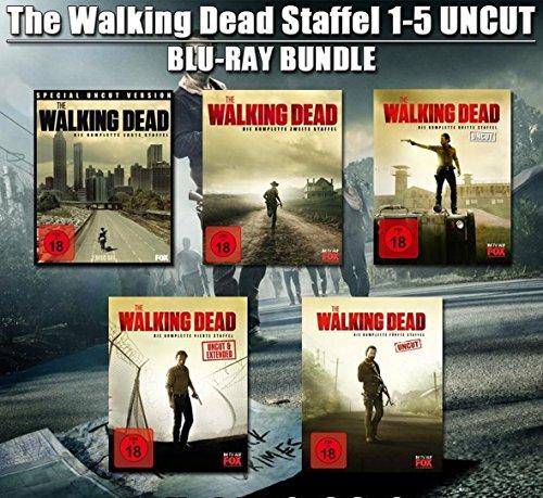 The Walking Dead - Staffel 1-5 (Uncut) [Blu-ray]