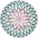 Nicole Knupfer, tappeto a mandala, rotondo, vintage, bohmien,...