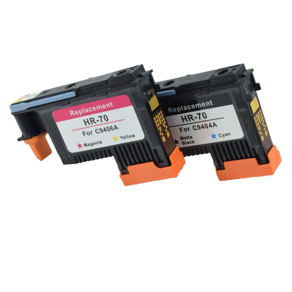 Komada dos piezas alta calidad compatible HP70 cabezal de ...