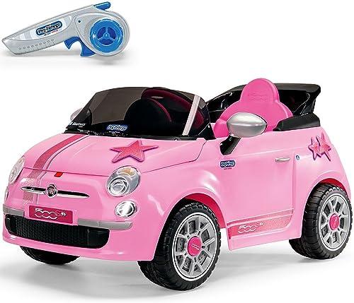 ordene ahora los precios más bajos Peg Perego Perego Perego Coche eléctrico Kids controlado a Distancia Fiat 500 Star 6 Volts.  Nuevos productos de artículos novedosos.