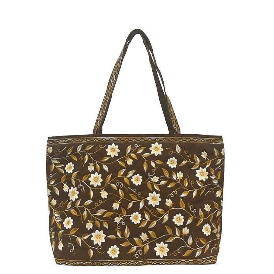 深めるフラッシュのように素早く病なベトナムバッグ 両面刺繍 ビーズ トートバッグ 肩掛け 鞄 ベトナム雑貨