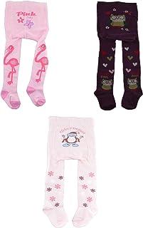Dsaren Baby Strumpfhose Baumwolle Warme Leggings Kinder Strumpfhose Rutschfest M/ädchen Strickstrumpfhosen Girl Leggings Schwarz