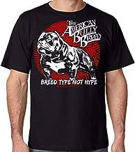 Men tee Shirt Breed Pit Bull American Bully Men's Graphic T Shirt