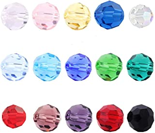 Creative Club Wholesale Mix Lots 750pcs 6mm #5000 Round Crystal Beads with Container Box (750pcs) CCS17
