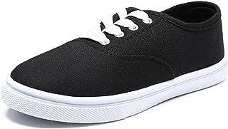 Royal Victory Women Canvas Slip-On Sneaker Walking Flat Shoes