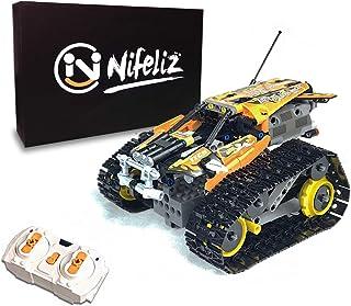 Nifeliz Remote-Controlled Stunt Racer MOC Building Blocks...