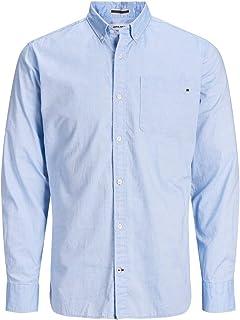 Jack & Jones Jjeclassic Soft Oxford Shirt L/S Noos Camisa Abotonada para Hombre