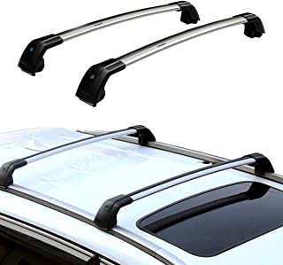 TRIL GEAR Roof Top Rack Cross Bars Cargo Luggage Carrier Set Fit For 2013-2019 Mitsubishi Outlander