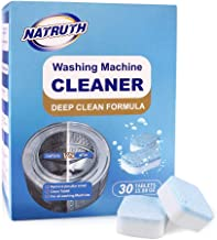 Sponsored Ad - NATRUTH Washing Machine Cleaner Effervescent Tablets, Solid Washer Deep Cleaning Tablet, Triple Decontamina...
