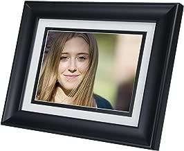 Contemporary Black HP df810v1 8-Inch Digital Picture Frame