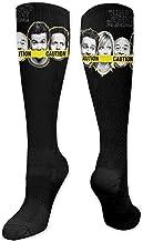 PPPPPRussell Novelty Socks It 'Calzini S-Always-Sunny-In-Philadelphia-Season Calzini a compressione Calzini novità per uomo Calzini sportivi da uomo unisex per adulti 20 pollici