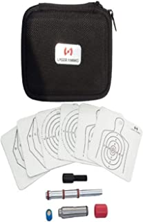 SureStrike 9mm Premium Kit- Includes 9mm SureStrike Laser Cartridge (visible red laser) to train with your 9mm handgun on a variety of Laser Ammo reactive targets