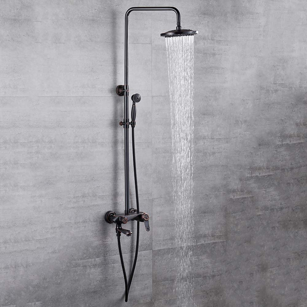 Eummit Import Shower Head All Copper Set Ranking TOP9 Black Household Ancient