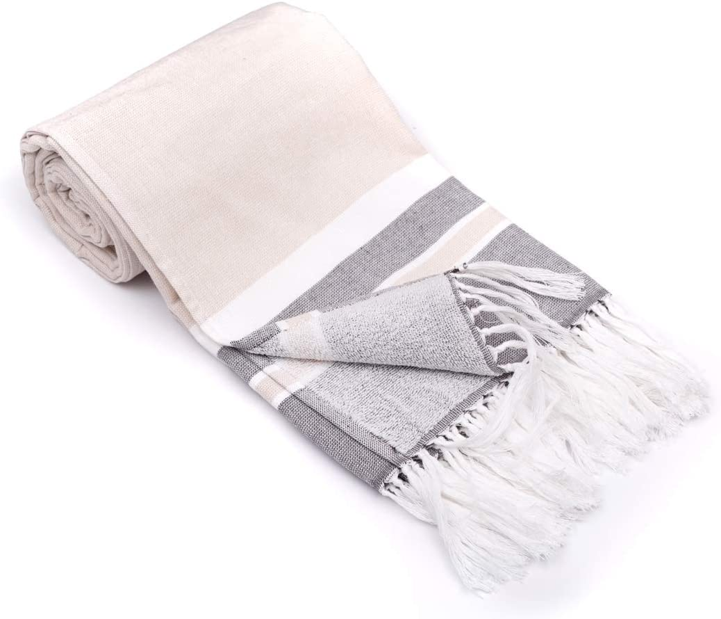 Special price InfuseZen Turkish Towel with Terry Cloth One Thin Ranking TOP7 on Side L and