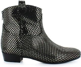 Luxury Fashion | Stephen Good London Women SG5022 Black Leather Ankle Boots | Autumn-winter 19