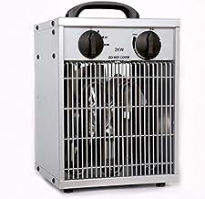 OOFAT Acero Inoxidable Calentador De Patio Al Aire Libre Baño Calentador A Prueba De Agua, El Calentador Industrial, Deshumidificadores Secador Calentador De Efecto Invernadero