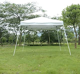 Outsunny Slant Leg Easy Pop-Up Canopy Party Tent