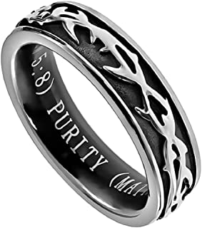 black purity ring