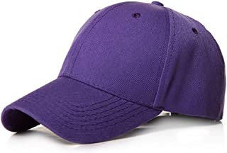 MKJNBH Plain Baseball Cap Women Men Classic Style Hat Casual Sport Outdoor Adjustable Fashion Unisex