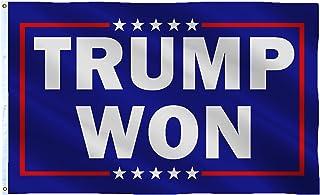 SOULBUTY Trump Won Flag 3x5 Outdoor-Trump Won Flag Large-Trump Won Flag 3x5 Cheated-Trump Flag 2024