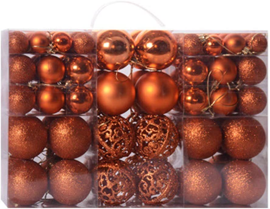 Yoyorule 100PC Manufacturer direct delivery 30 60mm Christmas Xmas Ball H Hanging shopping Tree Bauble