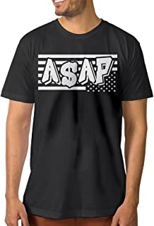 Men's ASAP Rocky American Short Sleeve T-Shirt Black