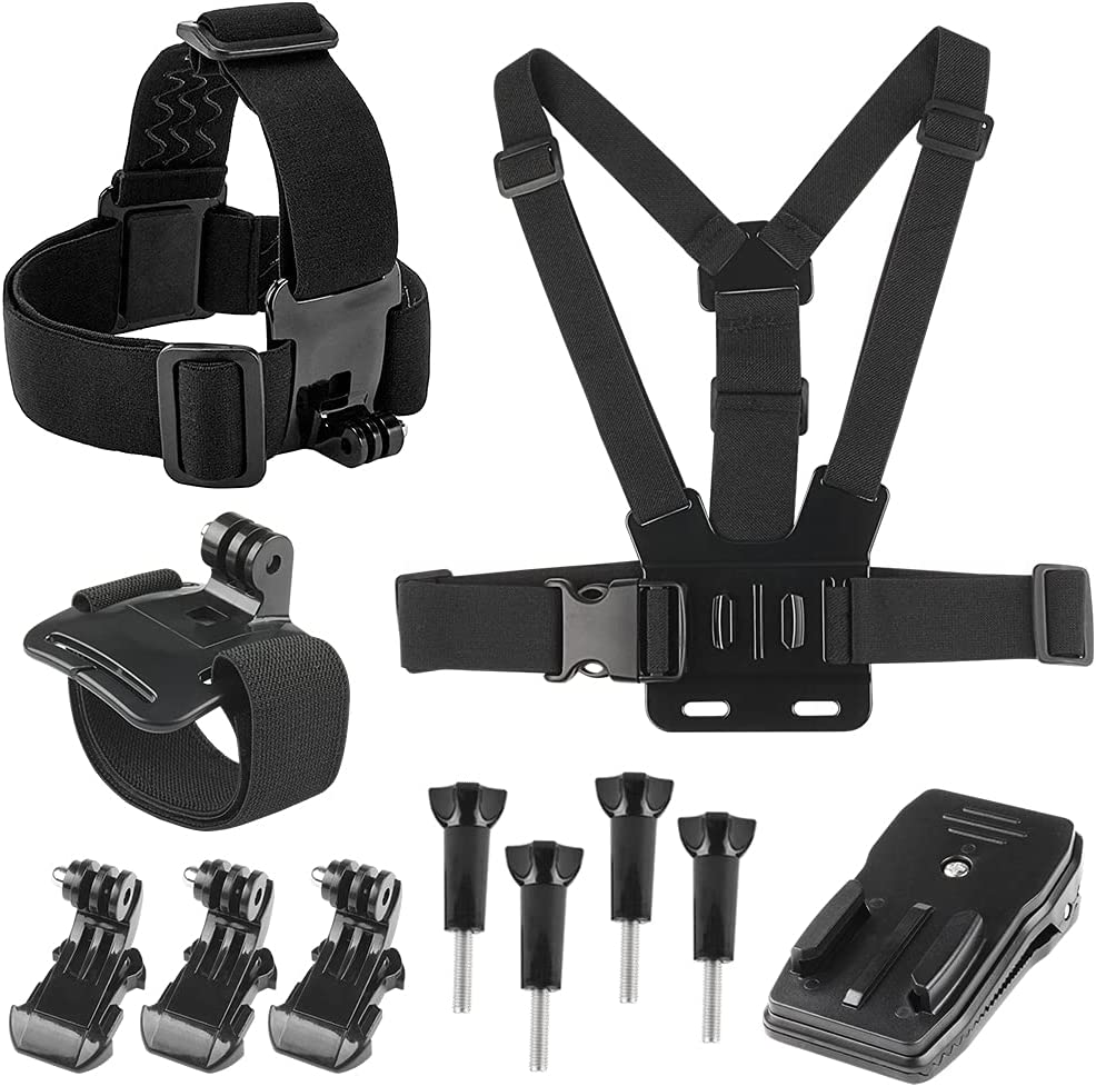 Chest Mount Harness Strap Year-end gift Head Kit Ranking TOP11 Wrist Compa