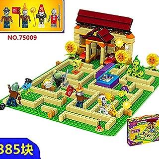 MAMINGBO 2020 New 2 Style Plants vs Zombies Set Anime Garden Maze Struck Game Building Blocks Bricks Compatible Gift (Color : White)