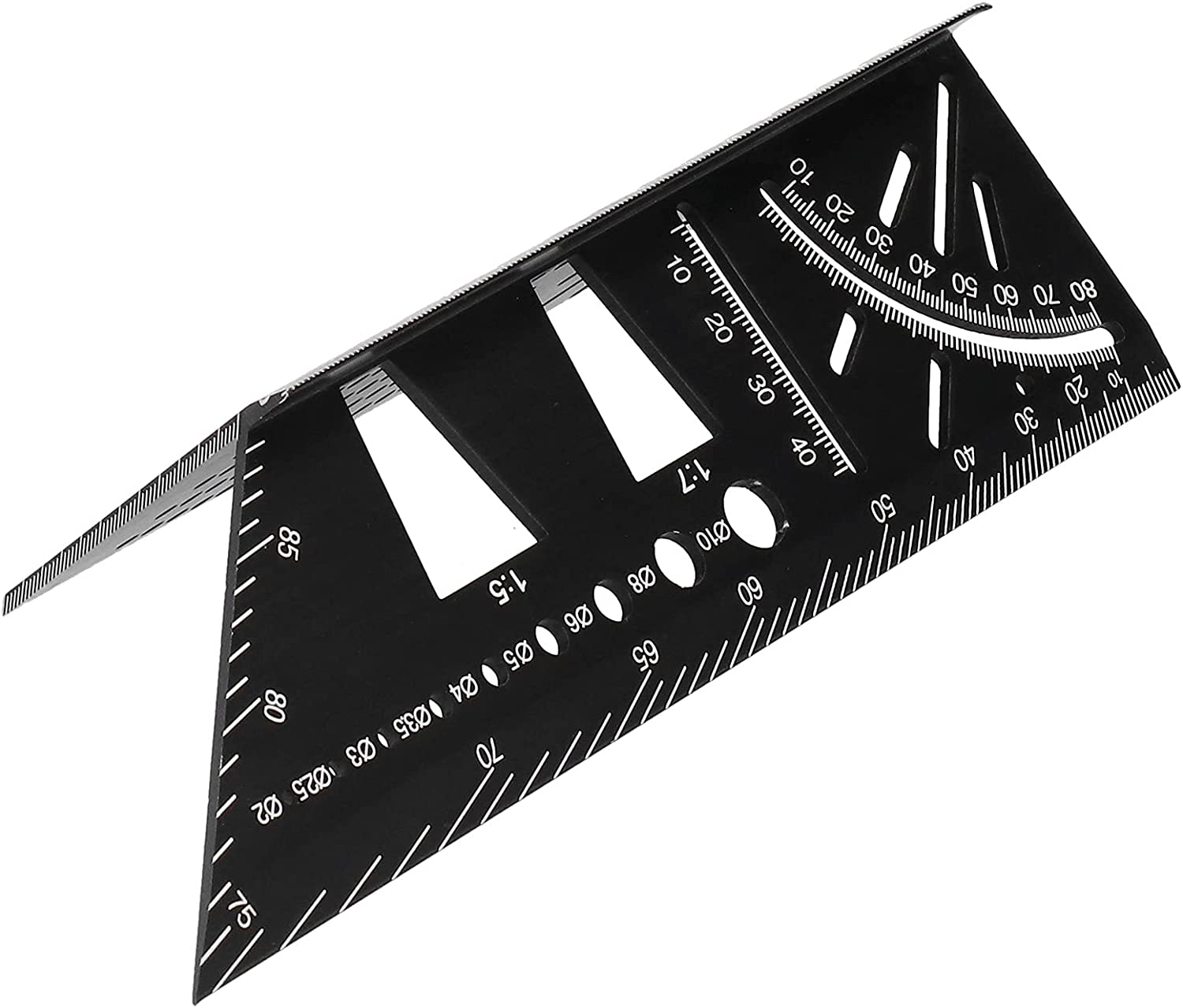 Polished Measuring Ruler Quality Overseas parallel import regular item Aluminum 7.3 1pc x Alloy 21.5 Ranking TOP12