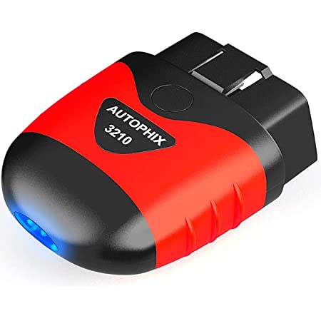 Autophix Obd2 Bluetooth Adapter Wifi Obd2 Diagnosegerät Für Ios Android Eobd Obdii Auto Scanner Mit Batterietest Pkw Kfz Fehlercode Lesen Und Löschen Auto