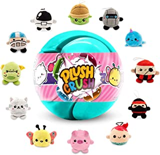 Plush Crush - Puzzle Crush Ball, Surprise Collectible Character, Stocking Stuffer Gift (1-Pack)