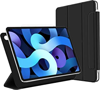 Xingmeng ipad air 4 ケース 2020 第4世代 10.9インチ iPad Pro 11 (2018 第1世代 ) 三つ折りスマート オートスリープ 磁気吸着 Apple Pencil対応 ワイヤレス充電可 留め具付き 2モー...