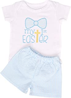 Unique Baby Boys My 1st Easter Layette Set with Shorts