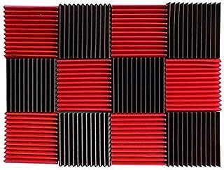 Festnight Esponja Insonorizada, Estudio de Grabación de Aislamiento de Ruido Cuña Espuma Absorbente de Sonido