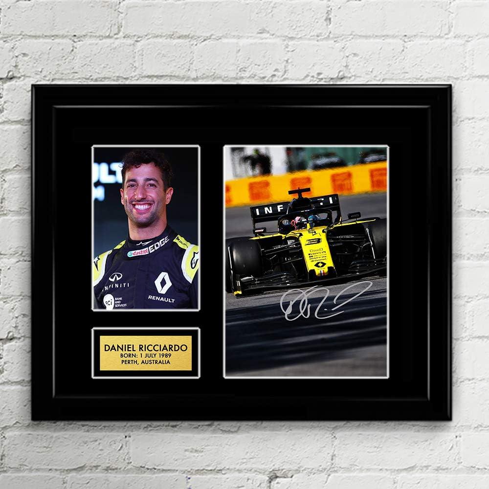Daniel Ricciardo Renault Ultra-Cheap Deals Formula 1 Signed F1 Racing service Autographed