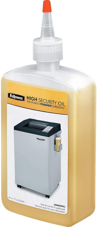 Fellowes Powershred High Security Performance Oil, 12 Ounce (3505701), Jam Prevention