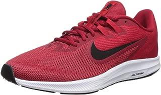 Nike Men's Downshifter 9 Running Shoe, Gym Black-University red-White, 8 Regular US