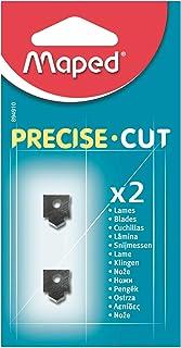 Maped - Lot de 2 Lames pour Massicot Precise Cut A4 - Lames de Rechange pour Rogneuse Maped Capacité de Coupe 5 Feuilles -...