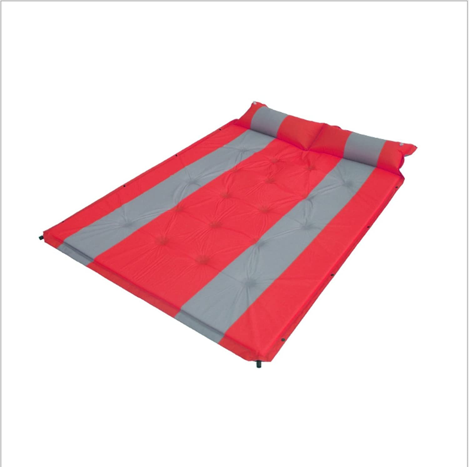 Inflatable Sleeping Mat Double Water&Moisture Proof Camping Mattress with Pillow for Camping,Hiking,Travelling,Backpacking