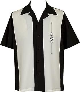 Mens Camp Shirt, Vintage Cuban Style Bowling Shirt ~ Zacardi