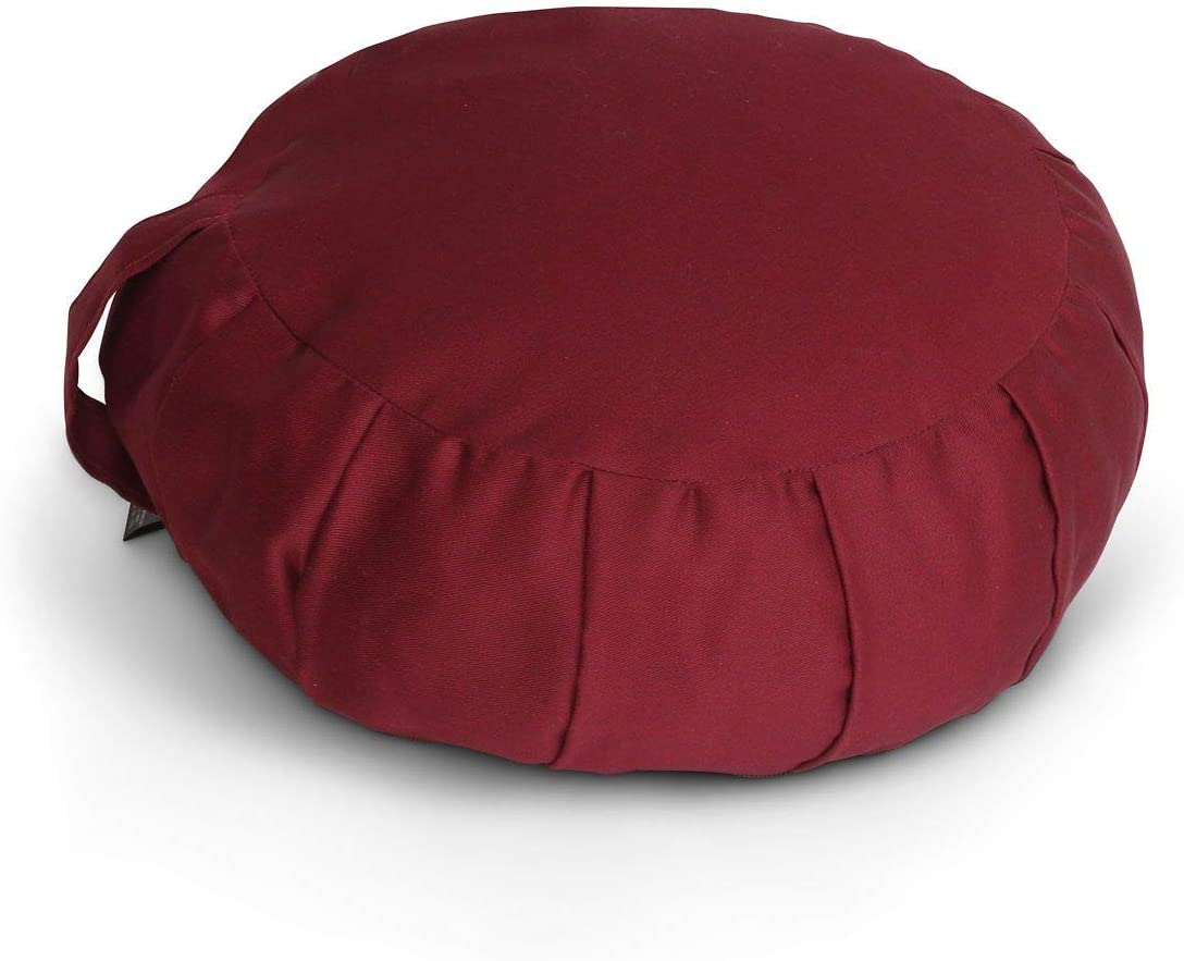 Samadhi Cushions Zafu Meditation Cushion Cover Bu with Zippered A surprise price is realized Ranking TOP16
