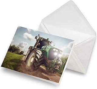 laminiert Kartenspender Traktor Bauer Landwirt 100 Visitenkarten 85 x 55 mm inkl