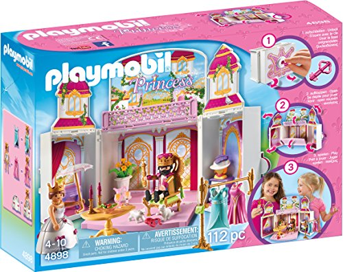 Playmobil- Autre Coffre Cour Royale, 4898, Norme