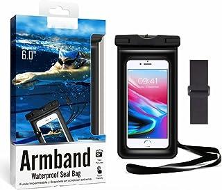 Housse imperméable pour téléphone portable de 6 pouces, sac étanche mobile niveau extrême.