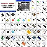 Freenove Ultimate Starter Kit con Placa V4 (Compatible con Arduino IDE), Tutorial Detallado de 273 Páginas, 217 Artículos, 51 Proyectos, Programación de Aprendizaje y Electrónica