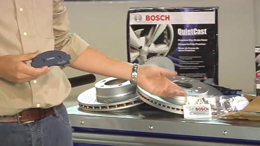 For 2001-2003 525i 1997-2000 528i Bosch Blue Semi Metallic Front Brake Pads NEW