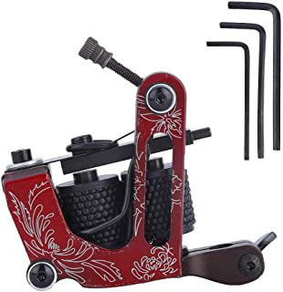 Tattoo Machine Gun Shadr Liner 10 Wrap Coils, Tattoo Machine Voor Shaer Liner Coloring Tattoo Device Coil Tattoo Machine G...