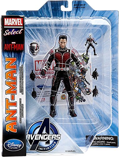 Marvel Ant-Man Marvel Select Ant-Man Exclusive Action Figure [Paul Rudd's Head] (Diamond Select Toys)