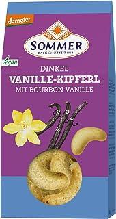 Sommer & Co. Bio Demeter Dinkel Vanille-Kipferl, vegan 6 x 150 gr