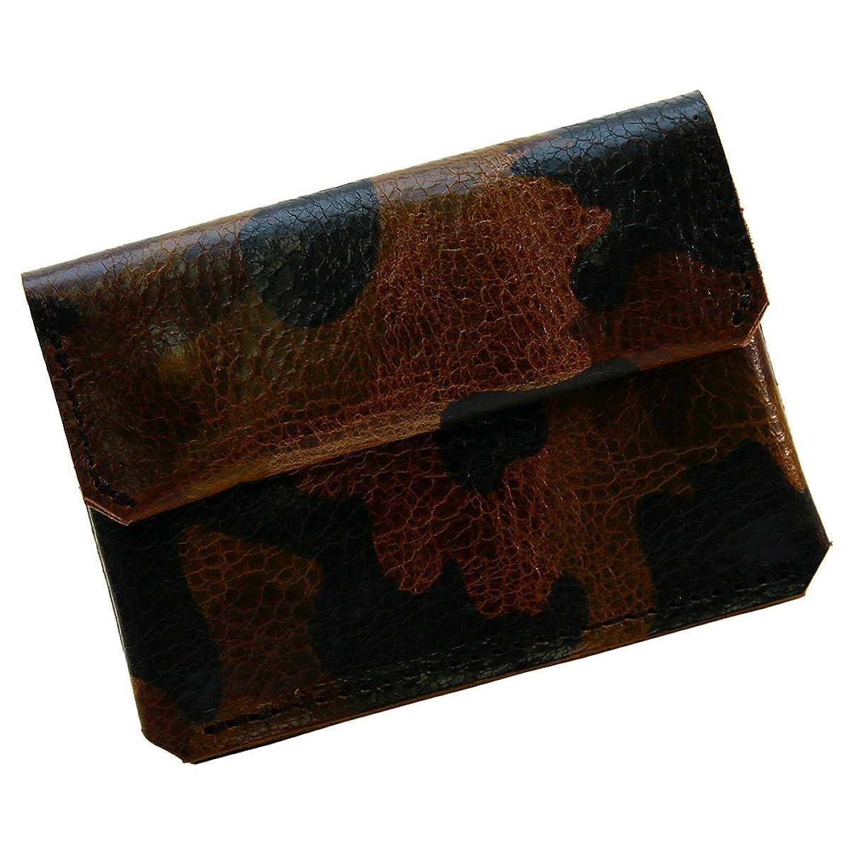 オフアンカー兵器庫アジリティアッファ(AGILITY affa)『チェストウォレット』財布 極小財布 コンパクト ウォレット 迷彩 カモフラージュ カードケース 小さい